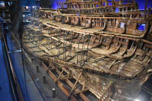 Mary Rose was Henry VIII's flag ship when it sank during the Battle of the Solent in 1545. We visited on the 473rd anniversary of her sinking and observed a minute of silence in the museum.
