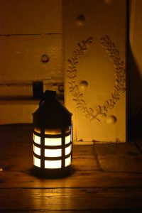 "The lantern marks the spot where Nelson died on HMS Victory's lower decks after encouraging his army with the words, ""England expects every man to do his duty."""