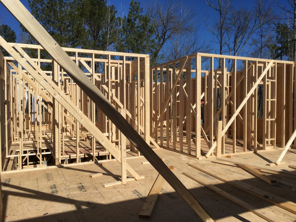 Framing From Fireplace